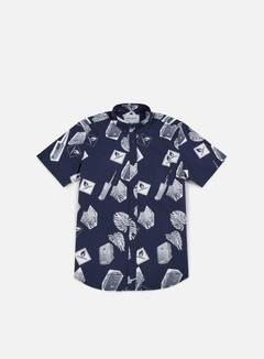 Carhartt - Flammable SS Shirt, Blue/White 1