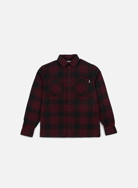 Carhartt - Harold LS Shirt, Amarone