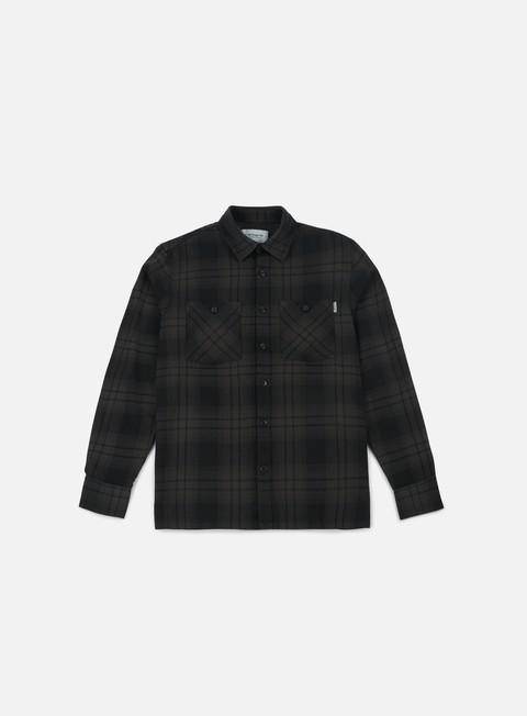 camicie carhartt harold ls shirt asphalt