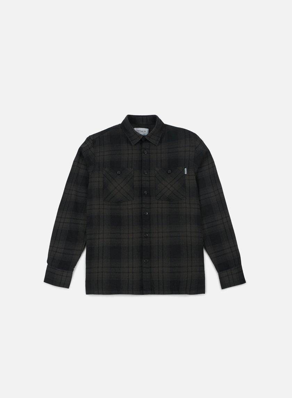 Carhartt - Harold LS Shirt, Asphalt