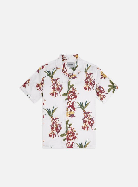 Sale Outlet Short Sleeve Shirts Carhartt Hawaiian Floral SS Shirt