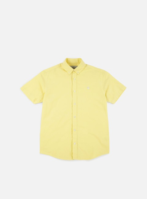 camicie carhartt lancaster logo ss shirt citrine wax