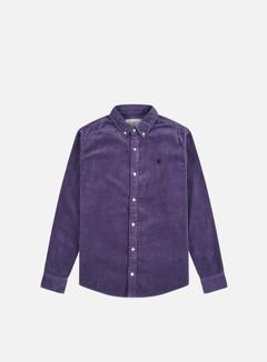 Carhartt - Madison Cord LS Shirt, Cold Viola/Black
