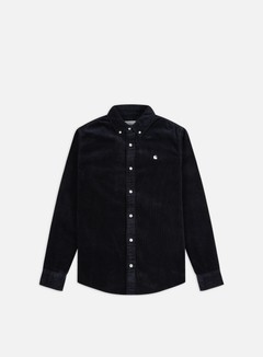 Carhartt - Madison Cord LS Shirt, Dark Navy/Wax