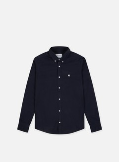 Carhartt - Madison LS Shirt, Dark Navy/Wax