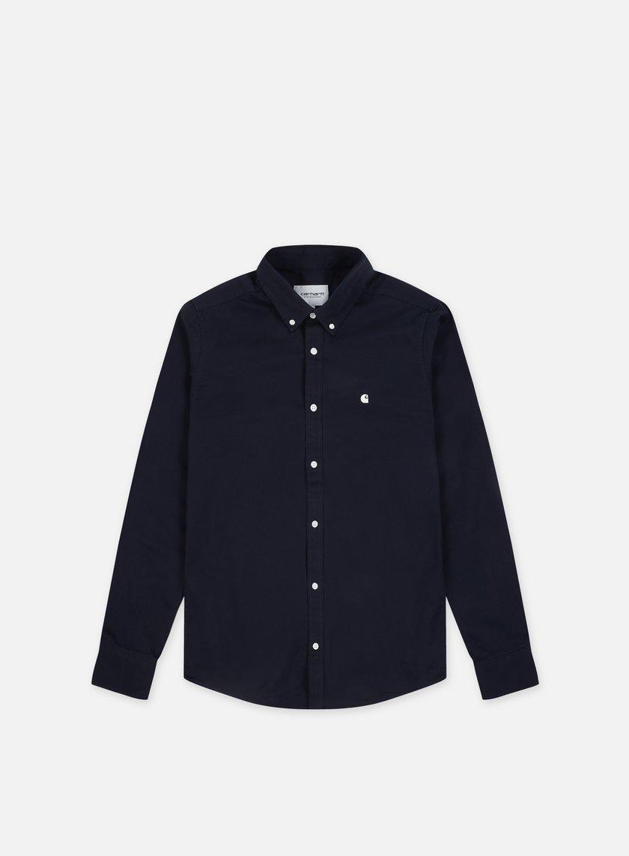 4cb5d8b9283e CARHARTT Madison LS Shirt € 46 Long Sleeve Shirts   Graffitishop