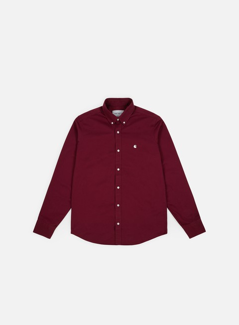 Sale Outlet Long Sleeve Shirts Carhartt Madison LS Shirt