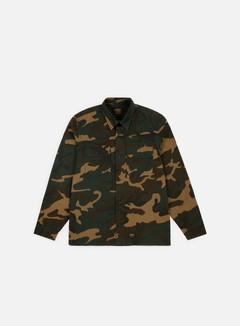 Carhartt - Mission LS Shirt, Camo Laurel Rinsed