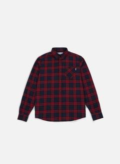 Carhartt - Norton LS Shirt, Navy/Alabama 1
