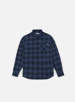 Carhartt - Norton LS Shirt, Navy/Ink Heather