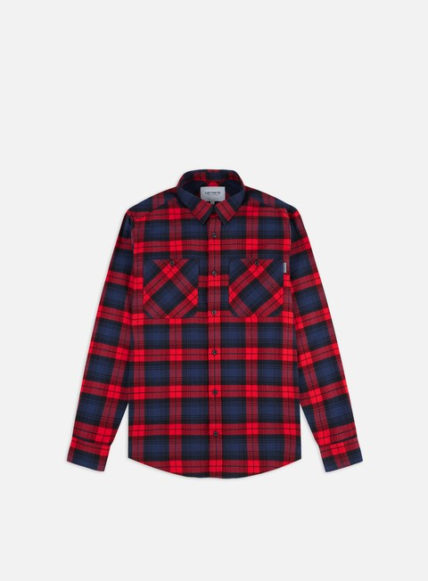 Long Sleeve Shirts Carhartt Pelkey Check LS Shirt