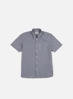 Carhartt - Preston SS Shirt, Blue/White 1