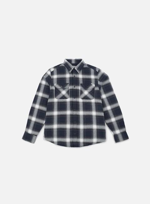 camicie carhartt rigg ls shirt navy