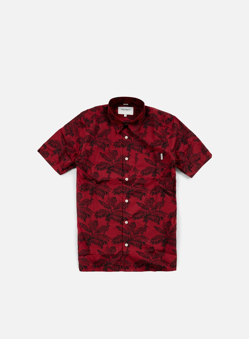 Carhartt - Ron Ghetto Palm SS Shirt, Alabama/Dark Navy