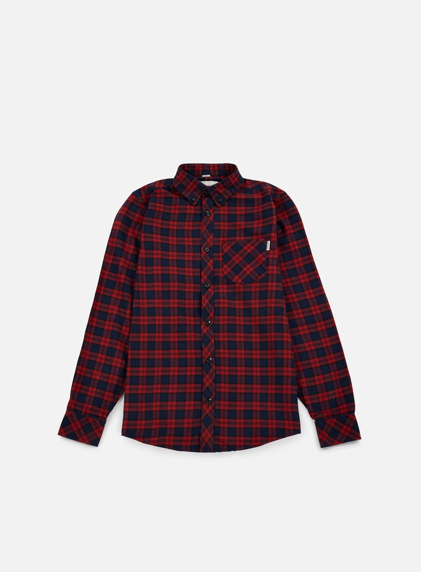 Carhartt - Shawn LS Shirt, Grape Shawn Check