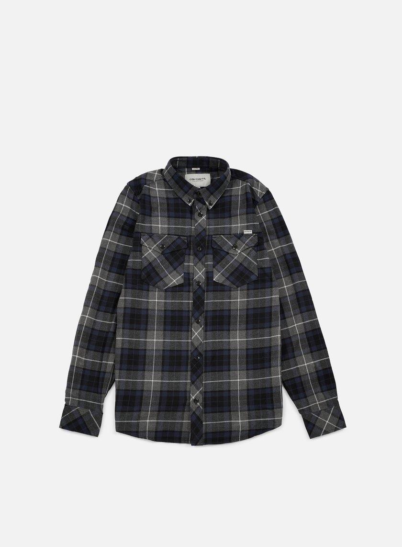 Carhartt - Tatum LS Shirt, Tatum Check Blue