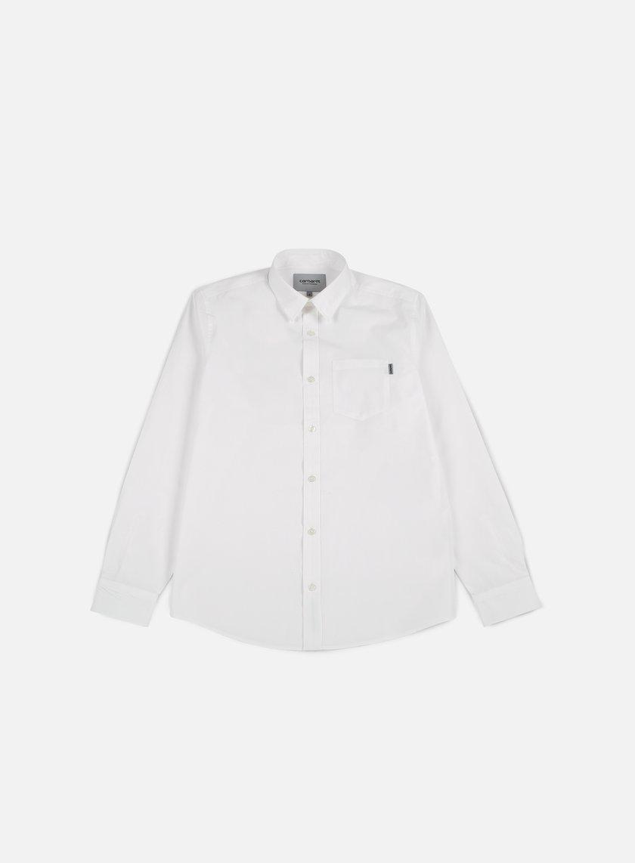 Carhartt - Wesley Shirt, White