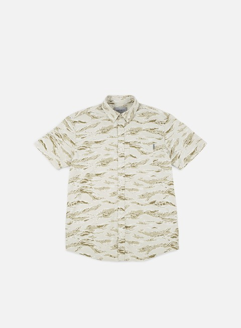 Sale Outlet Short Sleeve Shirts Carhartt WIP Camo Tiger SS Shirt