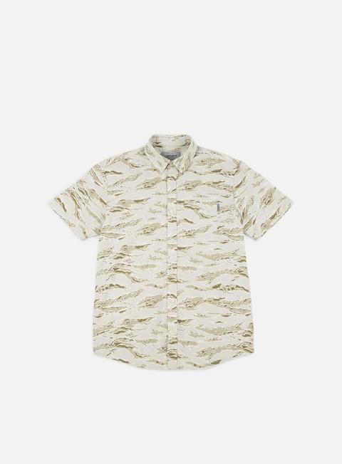 Outlet e Saldi Camicie a Manica Corta Carhartt WIP Camo Tiger SS Shirt