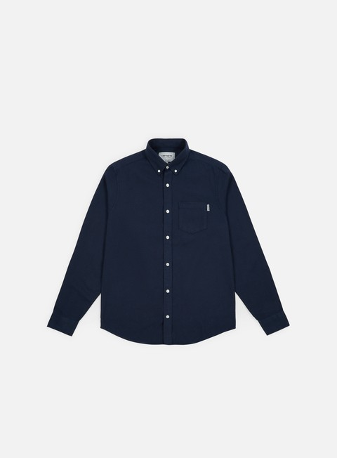 Outlet e Saldi Camicie a Manica Lunga Carhartt WIP Dalton LS Shirt