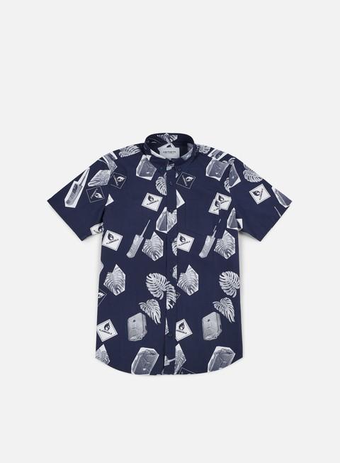 Camicie a Manica Corta Carhartt WIP Flammable SS Shirt