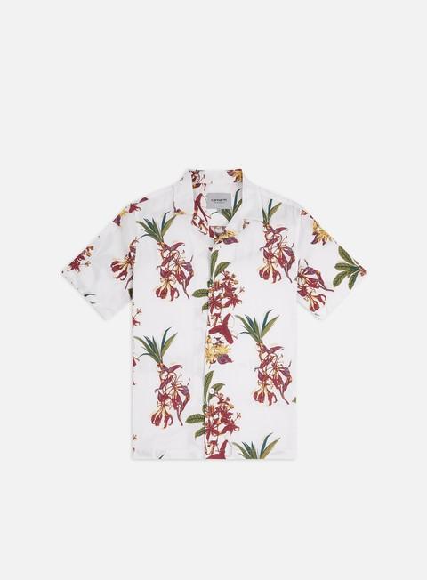 Outlet e Saldi Camicie a Manica Corta Carhartt WIP Hawaiian Floral SS Shirt