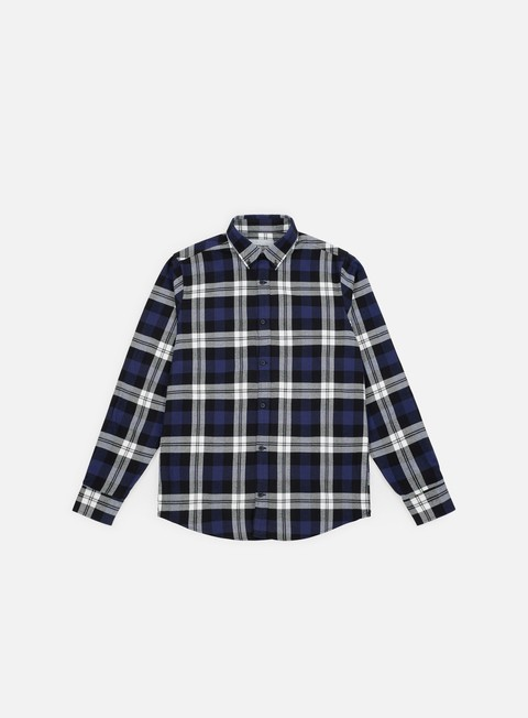 Outlet e Saldi Camicie a Manica Lunga Carhartt WIP Lessing LS Shirt