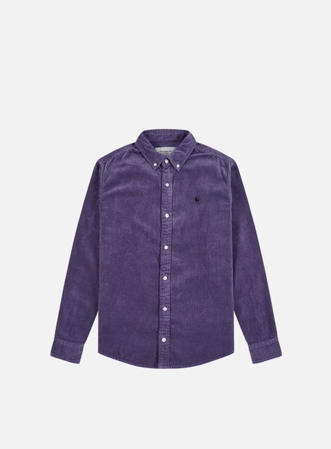 Outlet e Saldi Camicie a Manica Lunga Carhartt WIP Madison Cord LS Shirt
