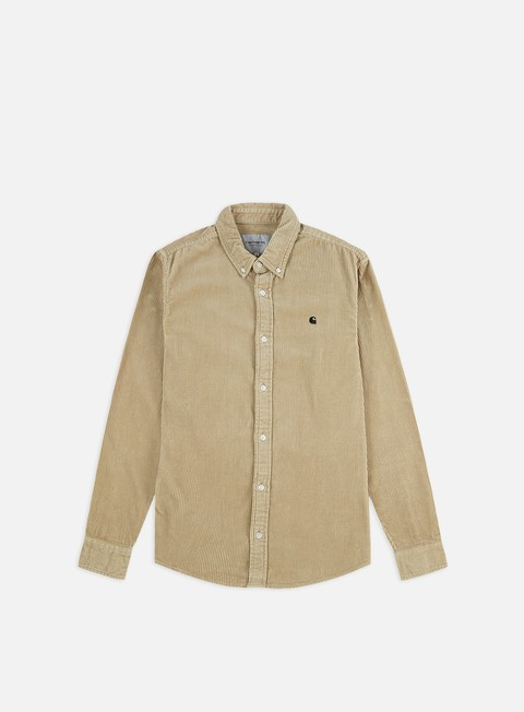 Long Sleeve Shirts Carhartt WIP Madison Cord LS Shirt