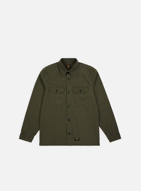Outlet e Saldi Camicie a Manica Lunga Carhartt WIP Mission LS Shirt