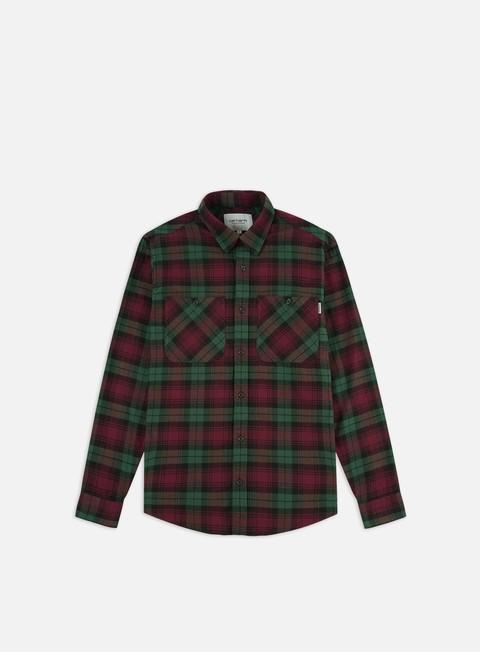 Outlet e Saldi Camicie a Manica Lunga Carhartt WIP Pelkey Check LS Shirt