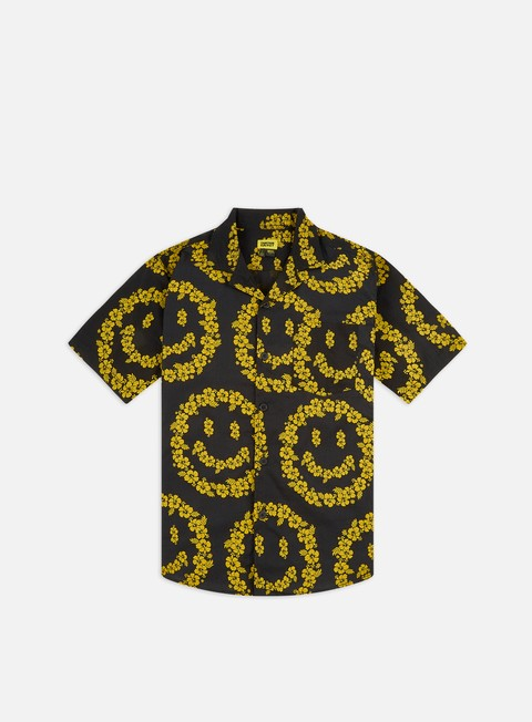 Outlet e Saldi Camicie a Manica Corta Chinatown Market Smiley Floral SS Shirt