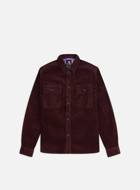 Outlet e Saldi Camicie a Manica Lunga Converse Button Down LS Shirt