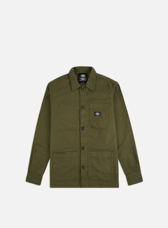 Dickies - Caprock Shirt, Dark Olive