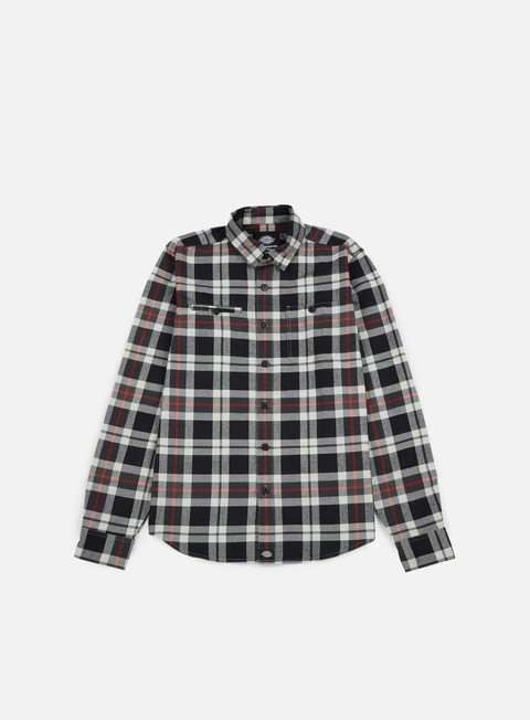Camicie a Manica Lunga Dickies Chesterton LS Shirt