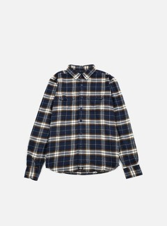 Dickies - Holton LS Shirt, Dark Navy 1