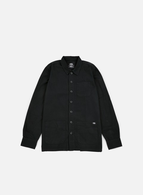 camicie dickies kempton ls shirt black