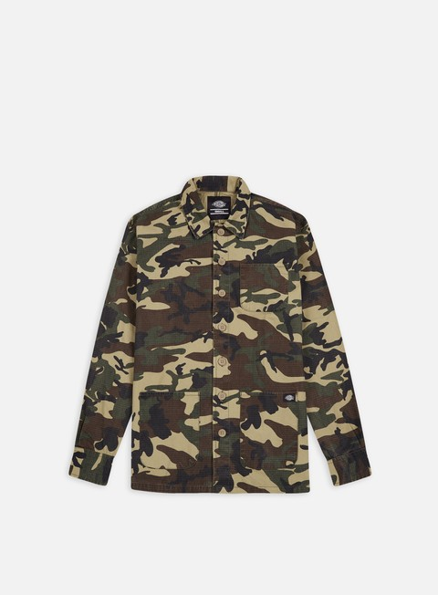 camicie dickies kempton ls shirt camouflage