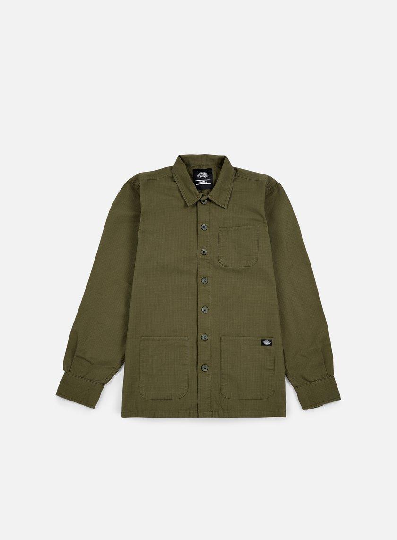 Dickies - Kempton LS Shirt, Dark Olive