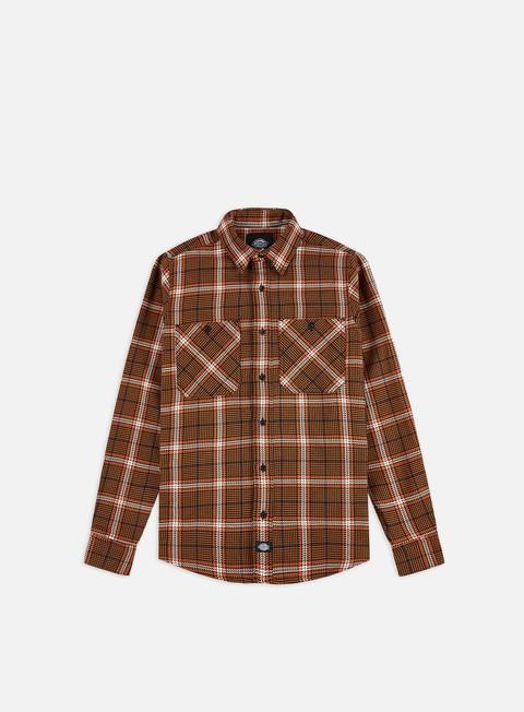 Outlet e Saldi Camicie a Manica Lunga Dickies Kuttawa Shirt