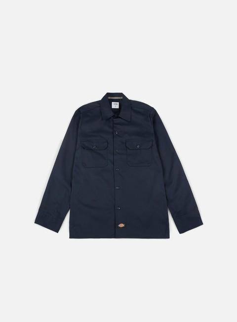 Sale Outlet Long Sleeve Shirts Dickies Long Sleeves Slim Work Shirt