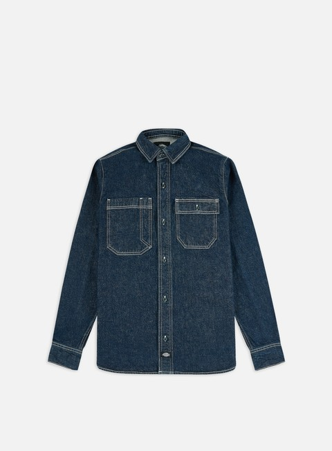 Outlet e Saldi Camicie a Manica Lunga Dickies Paincourtville Denim Shirt