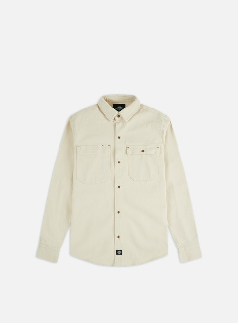 Long Sleeve Shirts Dickies Paincourtville Denim Shirt