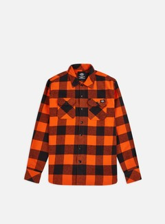 Dickies - Sacramento LS Shirt, Bright Orange
