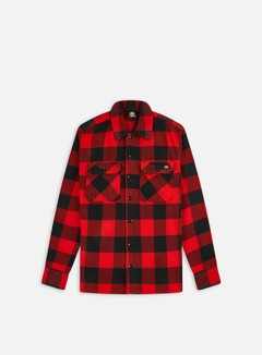Dickies - Sacramento LS Shirt, Red