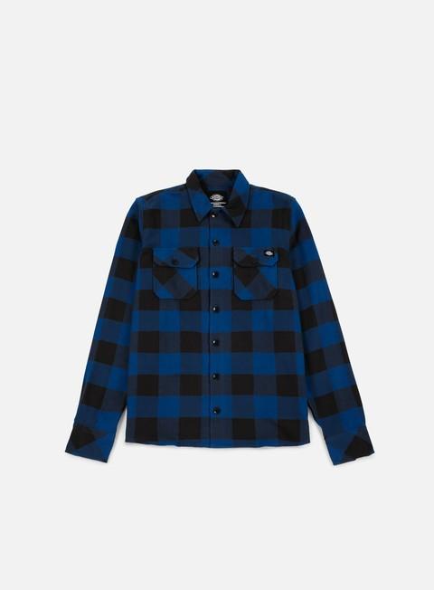 camicie dickies sacramento shirt blue