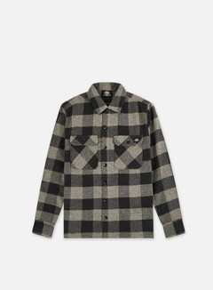 Dickies - Sacramento Shirt, Dark Grey Melange