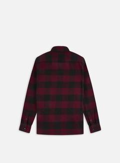 Dickies - Sacramento Shirt, Maroon/Black 2