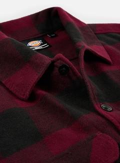 Dickies - Sacramento Shirt, Maroon/Black 3