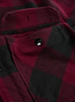 Dickies - Sacramento Shirt, Maroon/Black 4